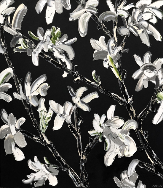 Echo 2019   Oil and acrylic on canvas  140 x 160 cm  Unframed  $6,600 AUD  Location: Cheltenham