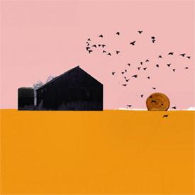Lee Spangler  'Haybale'  98 x 98 cm  - UNAVAILABLE