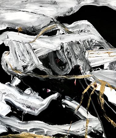Blind Blink 2019   Oil on canvas  120 x 140 cm  Framed in black Australian oak  $7,000 AUD  Location: Cheltenham