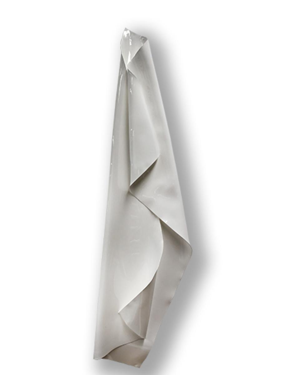 Large White Shroud 2018   Heat moulded polymethyl methacrylate  H260 x W48 x D8 cm  $3,500 AUD  Location: Cheltenham
