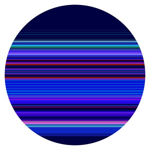Intersect #201803   2018   118cm diameter  Chromogenic Metallic Print Face-mounted to 4.5mm plexiglas  $5,200 AUD  Location: Cheltenham