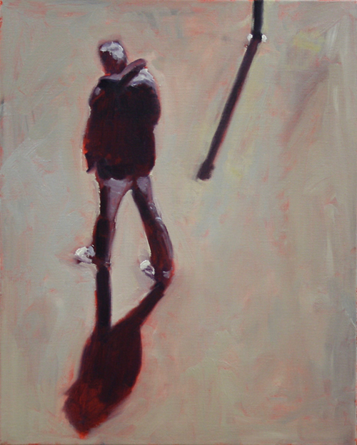 Paris Figure Study 1, 2019   Oil on canvas  44 x 54 cm  Framed in black Australian oak  $1,220 AUD  Location: Armadale