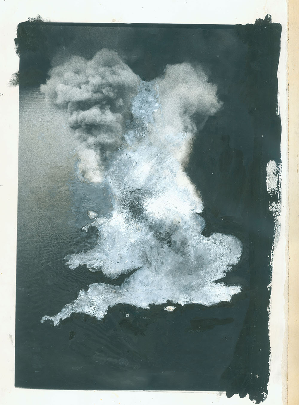 Britain? - PhotomontageGelatin silver prints, gouacheand ink on card1981First published:No Nuclear Weapons,CND/Pluto Press, 1981Catalogue: PK/22