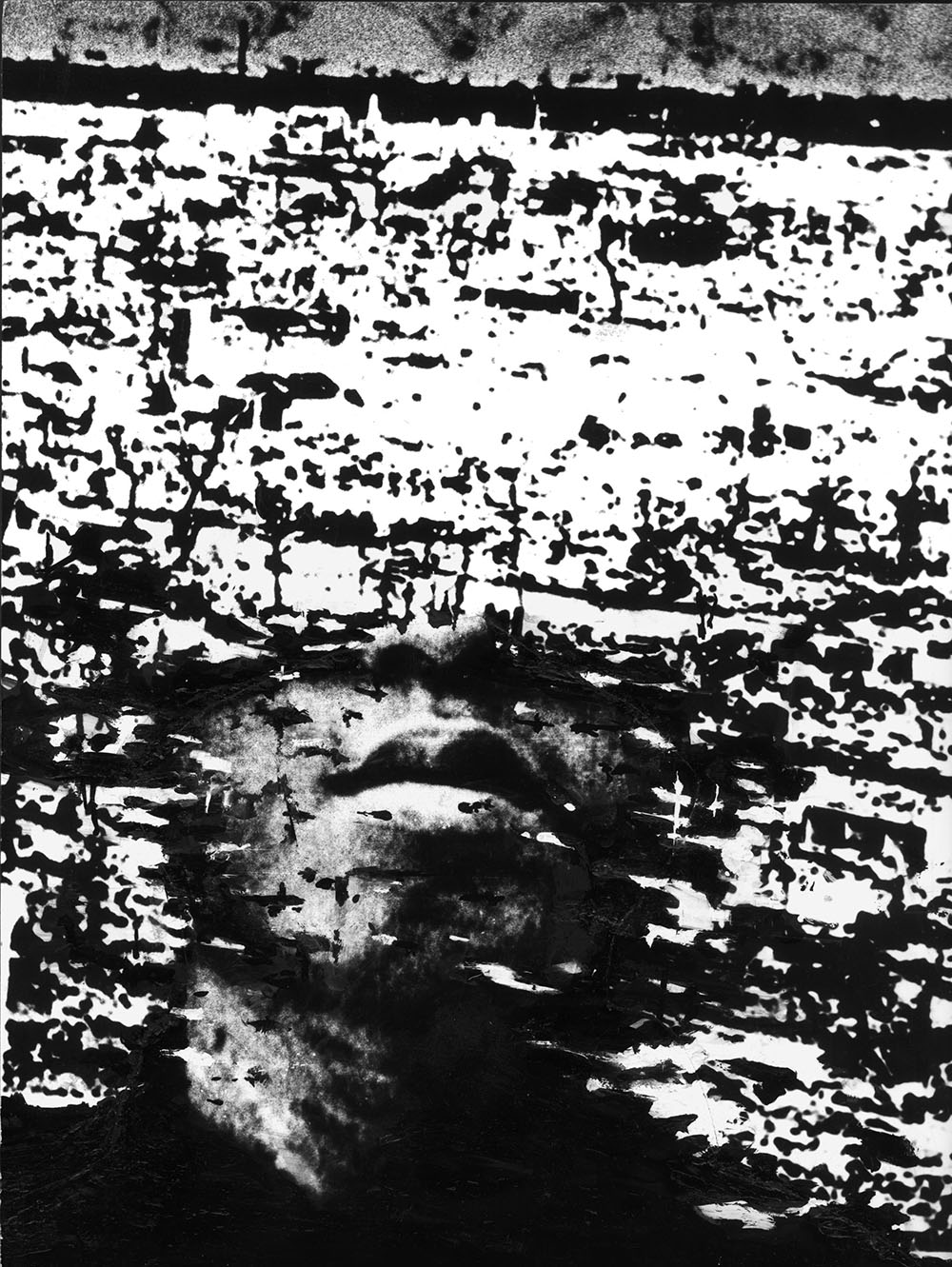 Hiroshima 6th August 1945 - PhotomontageGelatin silver prints, inkand gouashe on card1981First published:No Nuclear Weapons,CND/Pluto Press, 1981Catalogue: PK/31