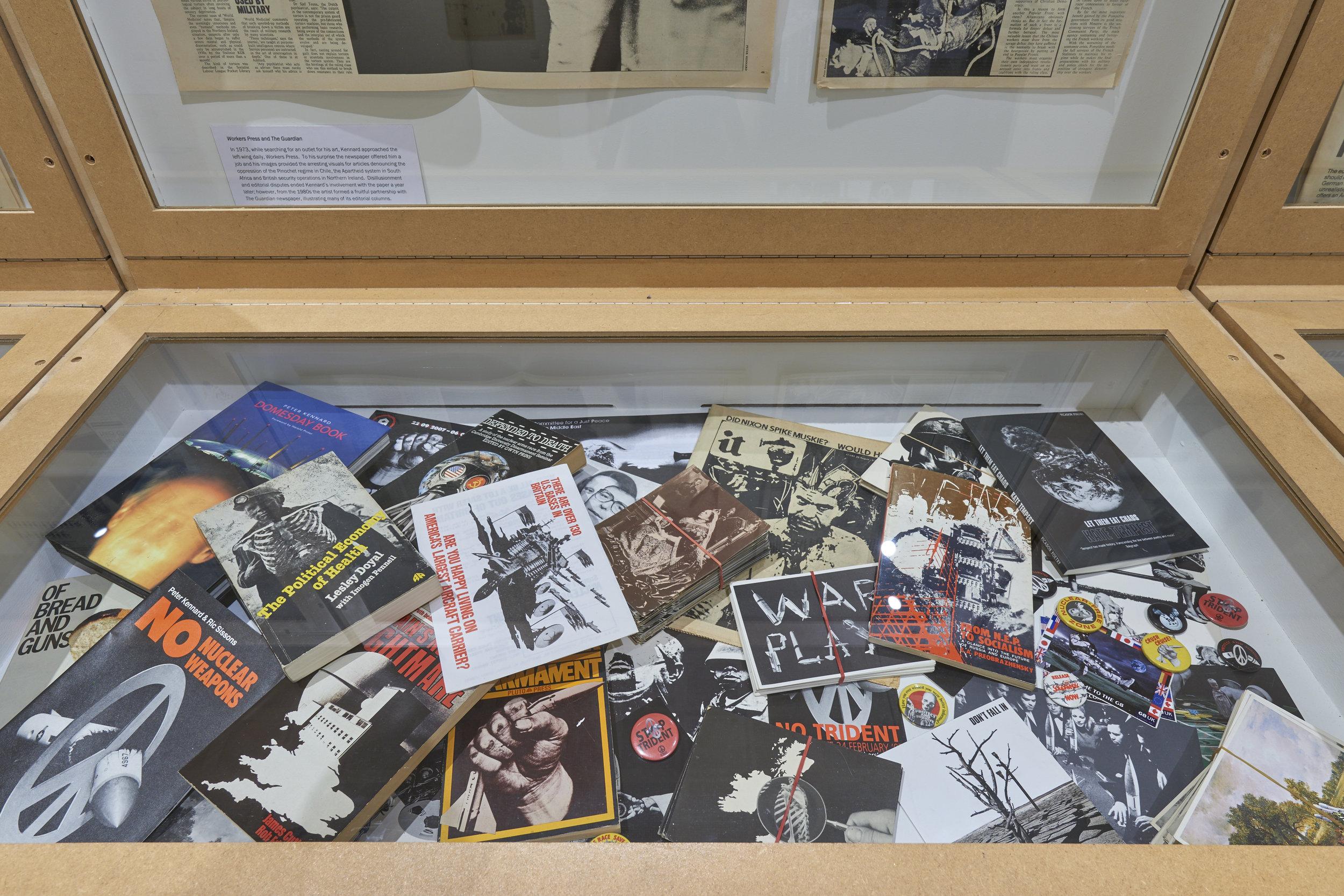 Vitrine - Imperial War Museum, London