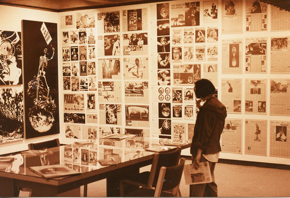 The Cutting Edge, Barbican Art Gallery, 1992