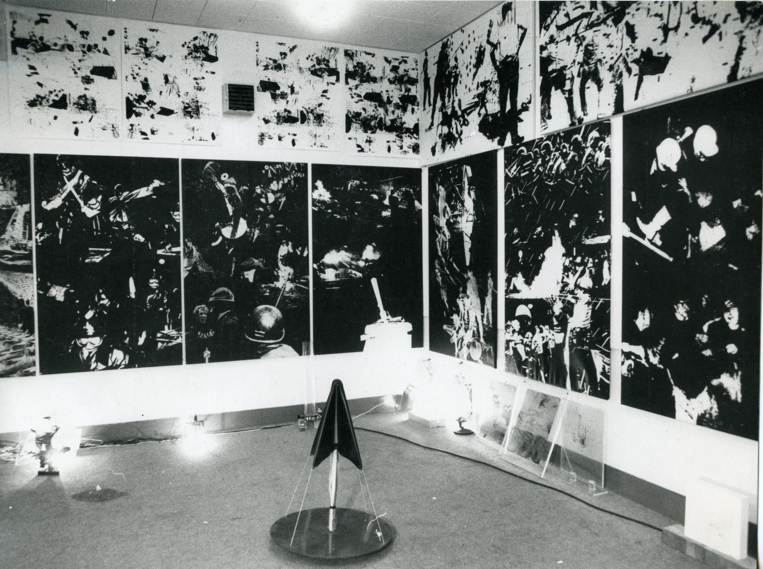 Gardner Art Centre, Sussex University, 1971