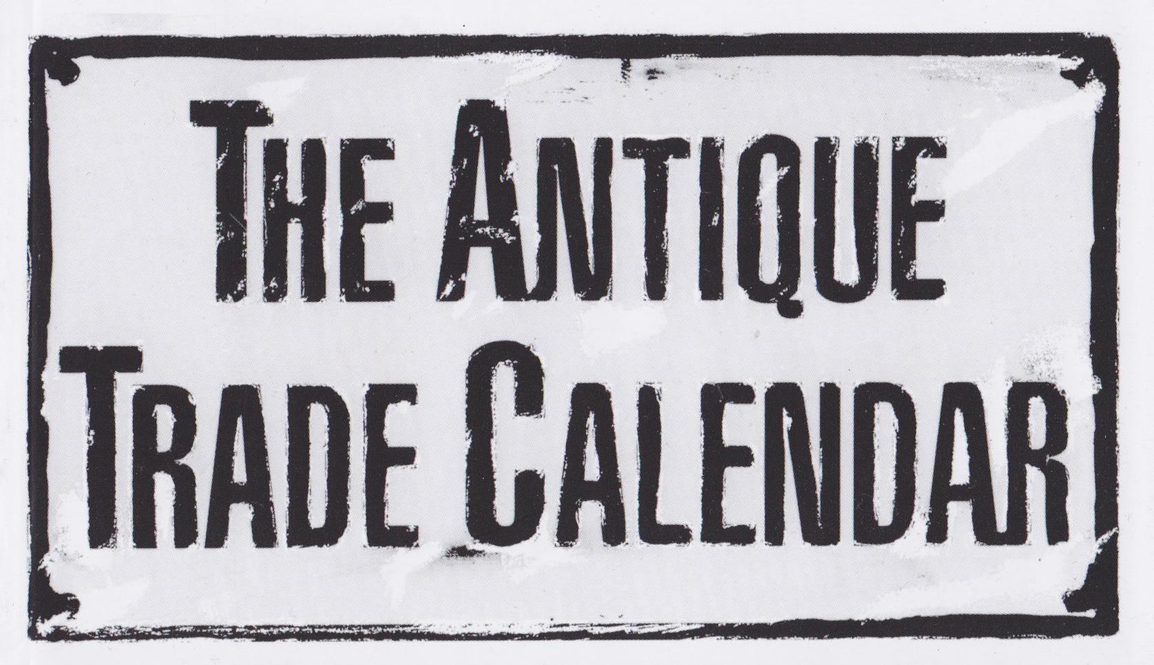 The Antique Trade Calendar