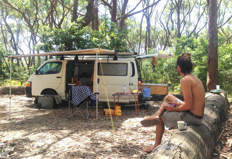 South Coast NSW Camp