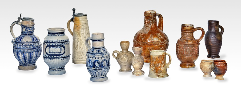 Medieval to renaissance stoneware (Photo: Fotostudio Baumann GmbH)