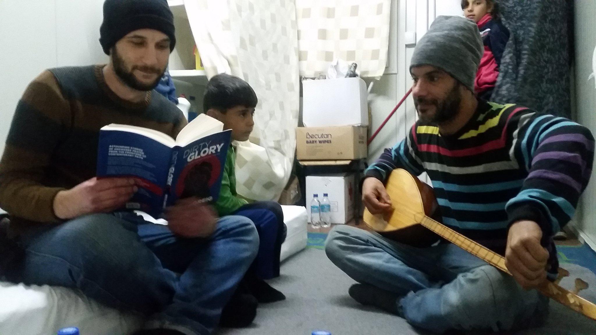 Macedonian Refugee Camp