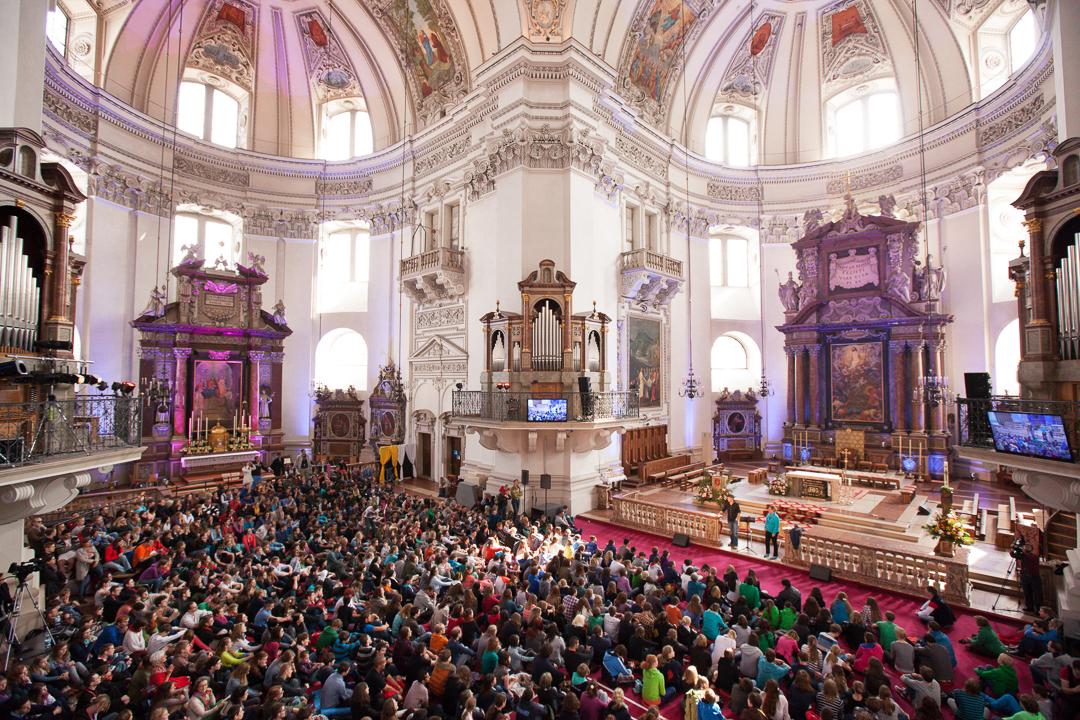 Celebrating Pentecost, (Salzburg)
