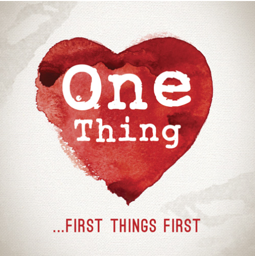 A disruptive exploration of the six 'One Thing' statements in the Bible to help you get to the heart of life's priorities by putting first things first.