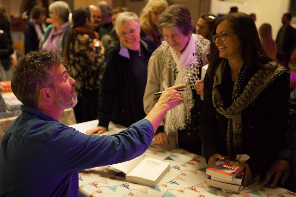 Book Signing - November 2017: Great to speak and meet so many lovely people in SouthWest London.