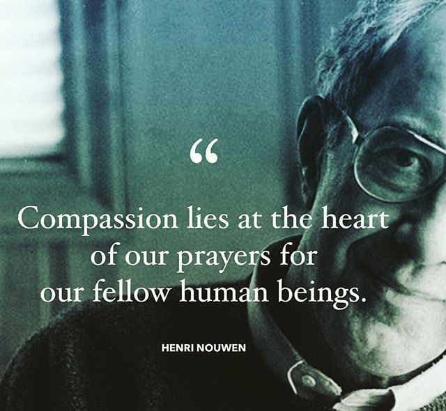 """The greatest Christian leaders are universally marked by deep empathy, compassion, deep sensitivity to the hearts of other people. EQ eats IQ for breakfast. .  Without empathy we become tyrants. Control freaks. Ministry bots. With it we listen. We love. We are prepared to change.  willing to sacrifice. We cannot help but pray. .  Henri Nouwen identifies compassion as the meeting place of contemplation and intercession. It is here, in quiet identification with the pain & predicament of others, that our hearts are softened and we are rescued, day by day, from the deadening creep of compassion fatigue. . """"Often I have said to people, 'I will pray for you,' but how often did I really enter into the full reality of what that means,"""" admits Henri Nouwen. But he continues: """"I now see how indeed I can enter deeply into the other and pray to God from his center. When I really bring my friends and the many I pray for into my innermost being and feel their pains, their struggles, their cries in my own soul, then I leave myself, so to speak, and become them, then I have compassion. Compassion lies at the heart of our prayers for our fellow human beings."""" [THE GENESEE DIARY]"""