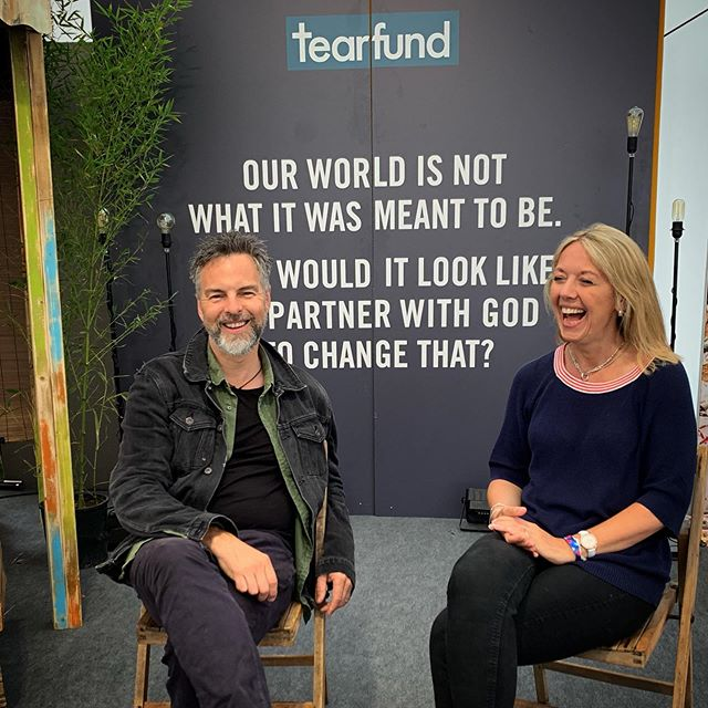 So grateful for the worldwide impact of @tearfund. Join us in the fight against injustice. #dontberubbish #focusisfamily