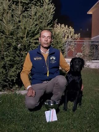Field Trial Novice Piacenza 4 nov. 2017   Waterfriend East Coast (Cash) 1 ° Eccellente CAC