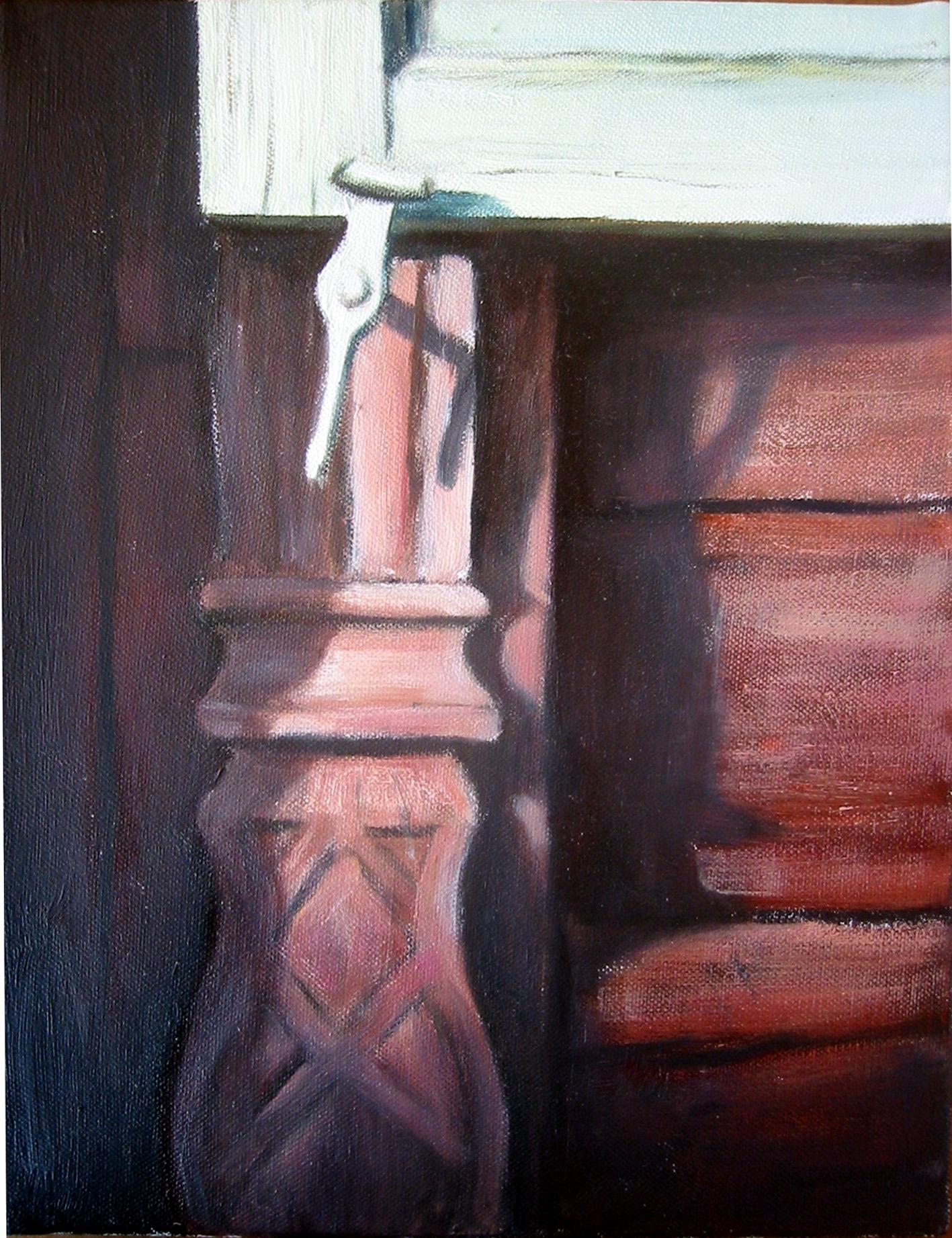 Exteriör med snickarglädje  Oil on canvas 2005