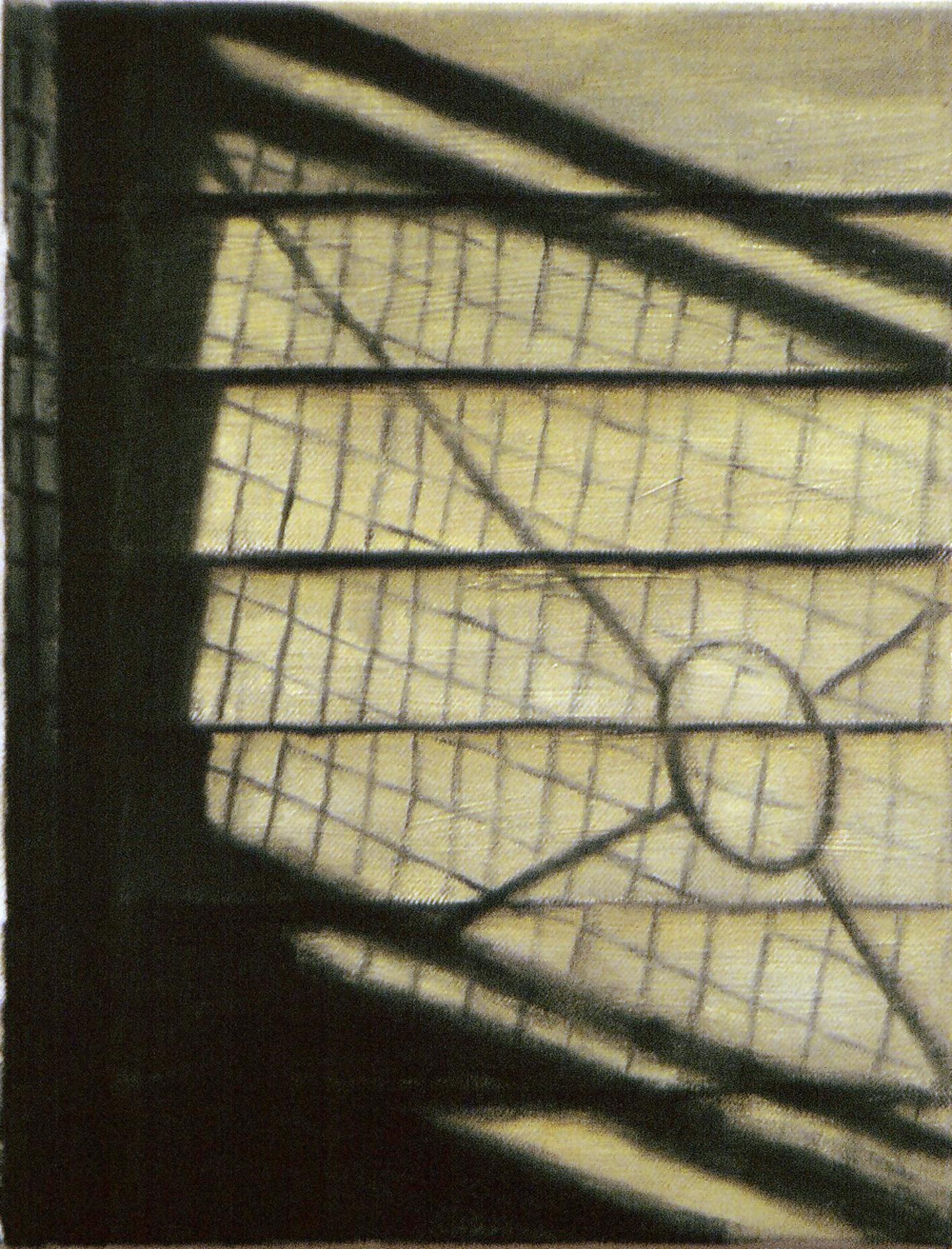 Exterior from Taivallahti  Oil on canvas  35 x 27 cm  2004
