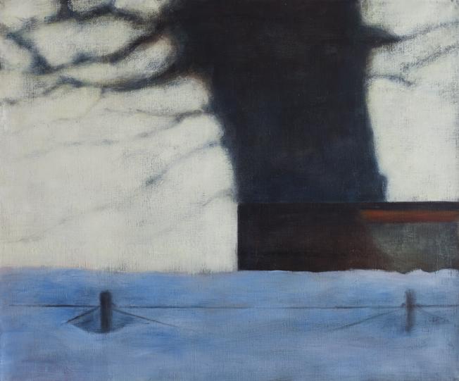 Exterior from Töölö by winter II