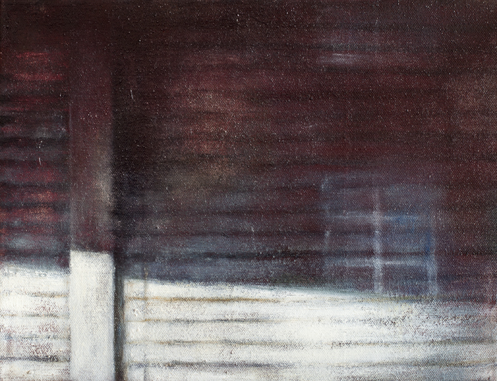 Blinds II  Oil on canvas 27x35 cm 2011