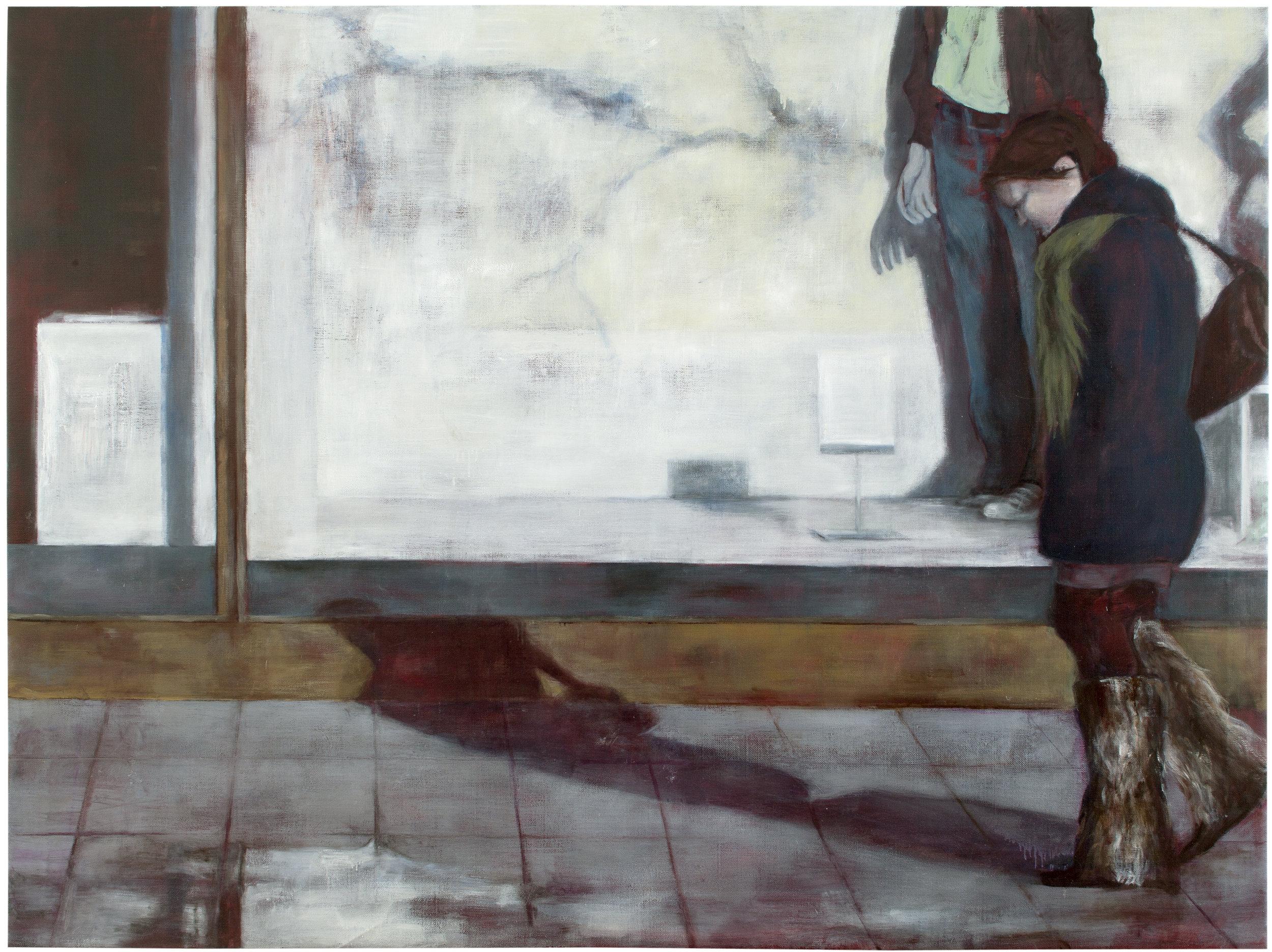 Display  Oil on canvas 150x200 cm 2011