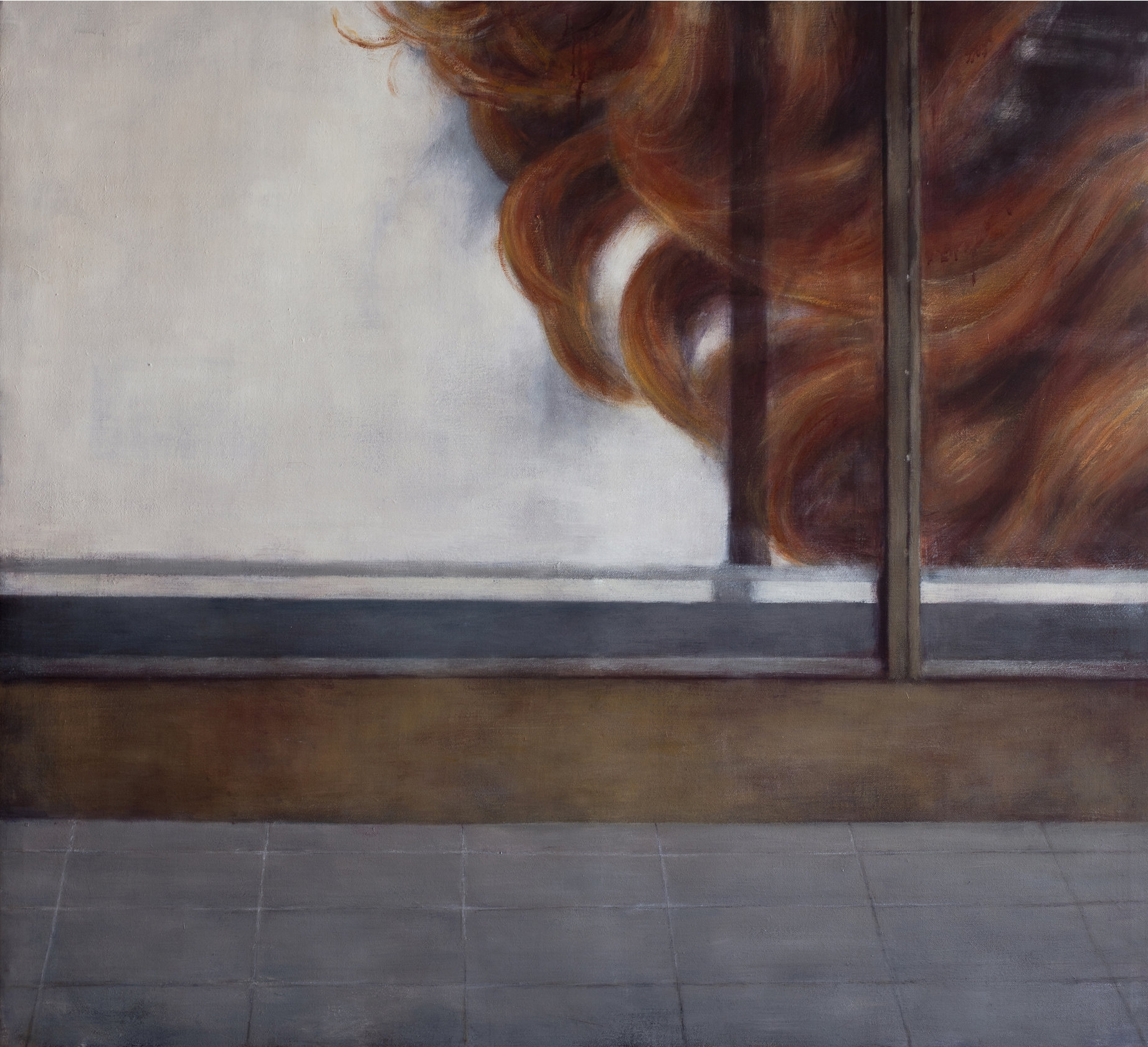 Exterior with Display Window  Oil on canvas 110x120 cm 2011