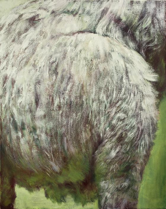 Display (Kangaroo)  Acrylic and oil on canvas 92x73 cm, 2014–15