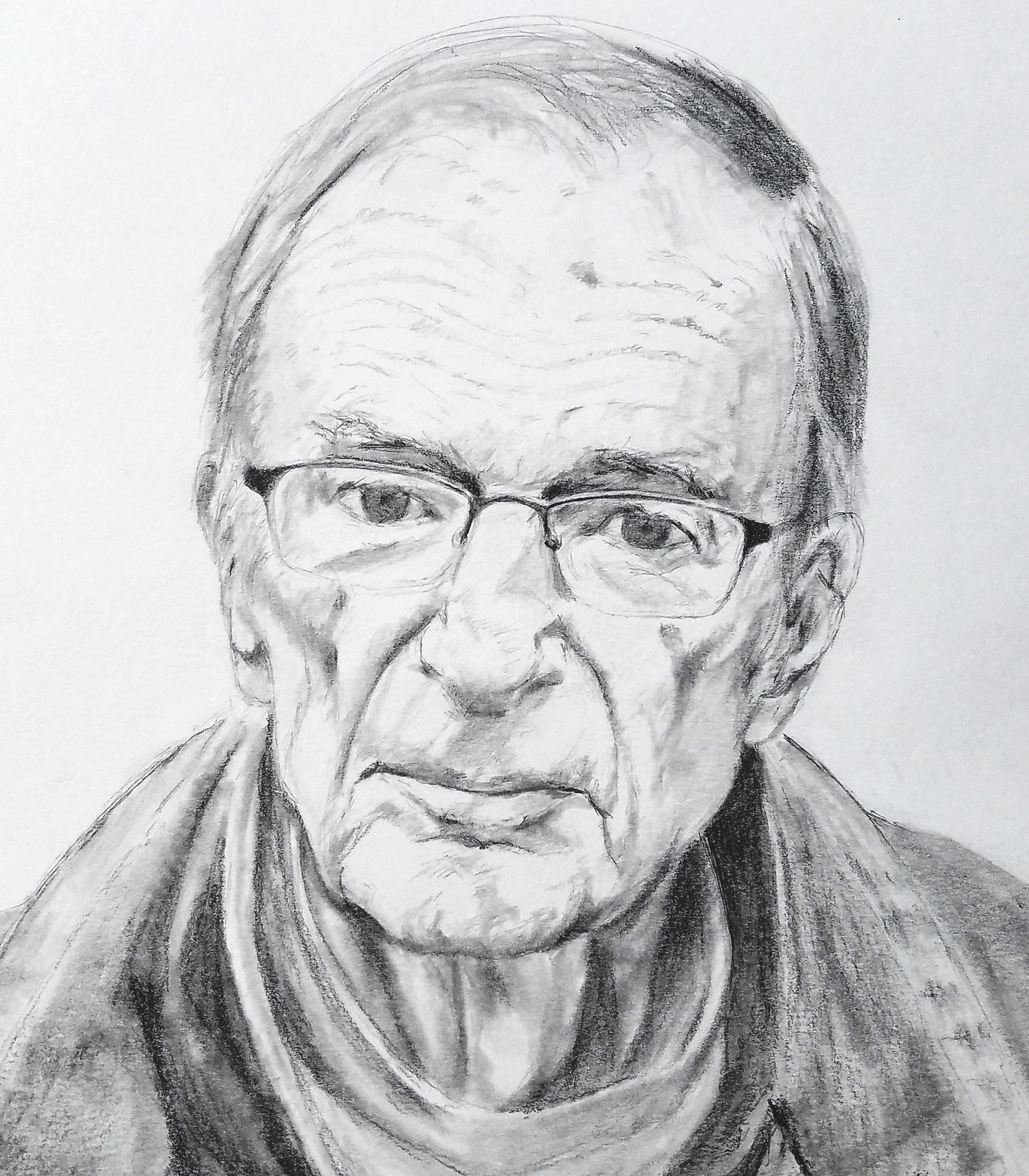 My Father; graphite; 2018