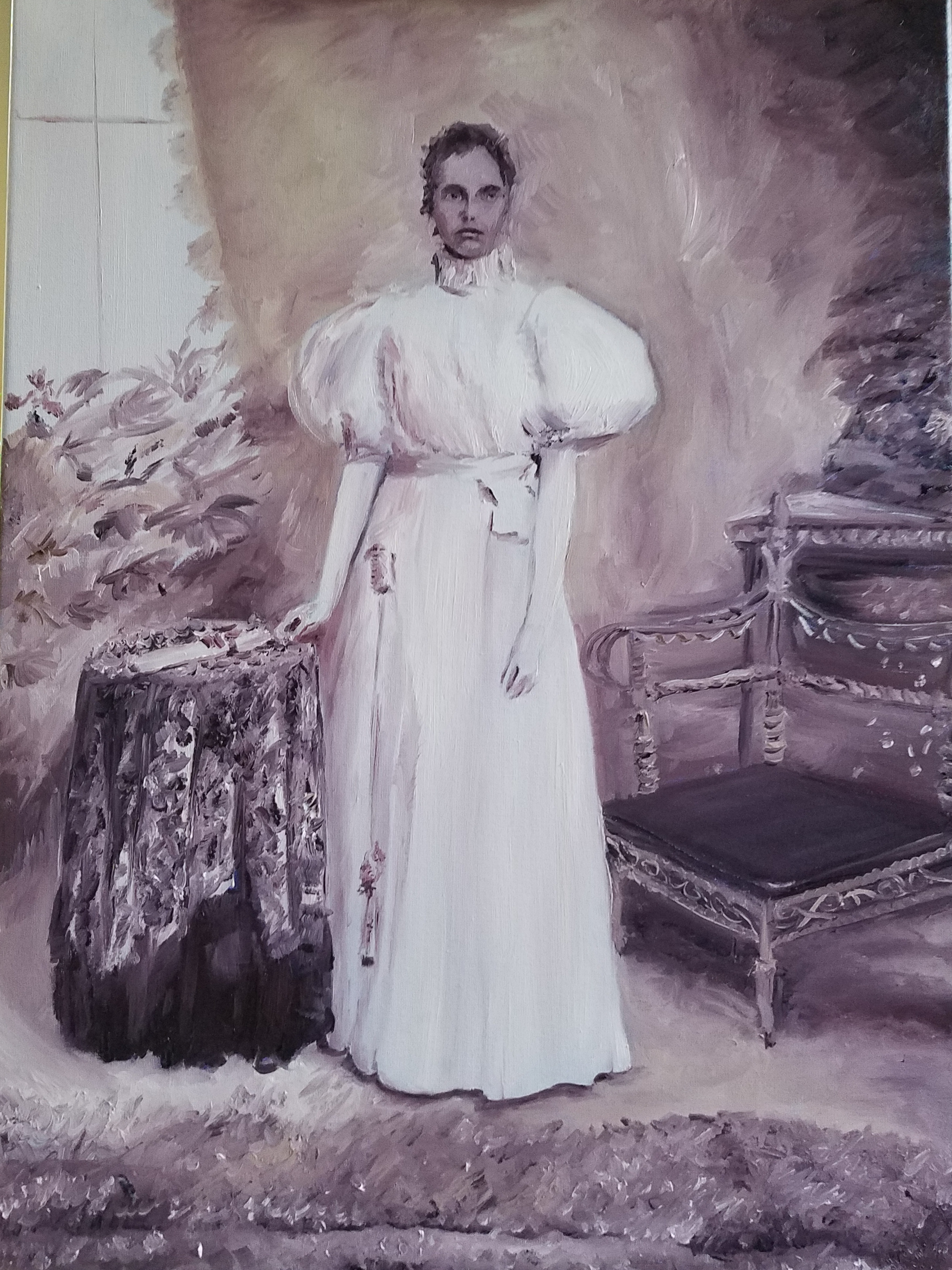 Victorian Grandmother; oil on linen; 2018