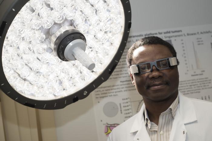 Samuel Achilefu, PhD, is the Michel M. Ter-Pogossian Professor of Radiology at Washington University in St. Louis.