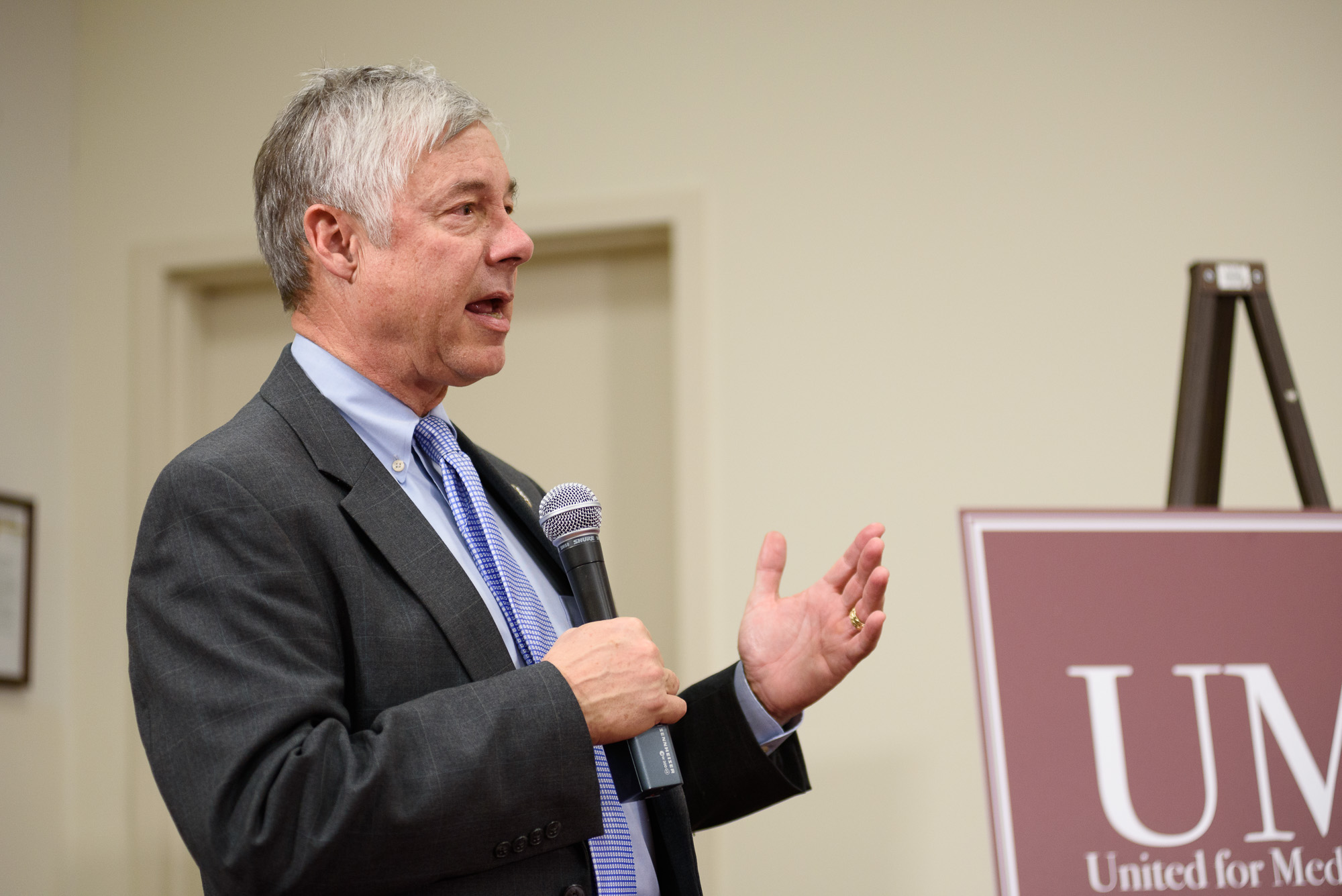 U.S. Rep. Fred Upton from Michigan participates in the Amazing Things Podcast LIVE Congressional Briefing.