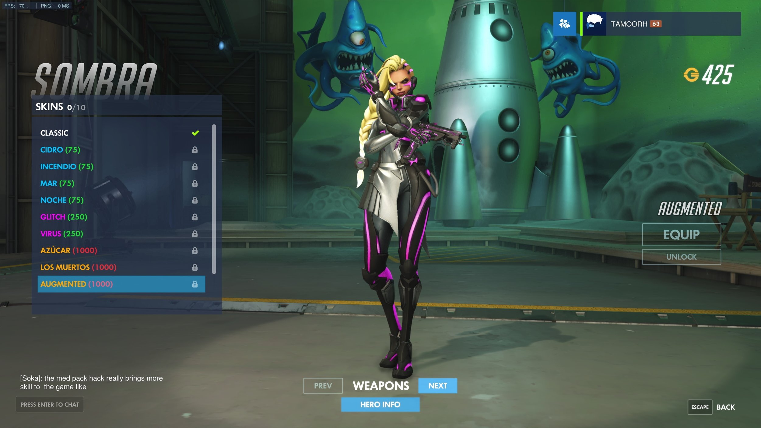 Sombra Augmented Skin