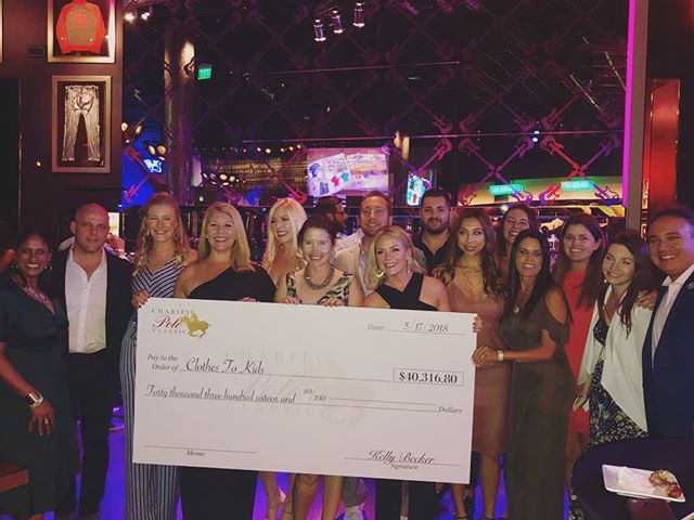 We were ecstatic to present over $325,000 in funds to three deserving Tampa Bay charities @clothestokids @powerofgiving @childrenscancercenter.