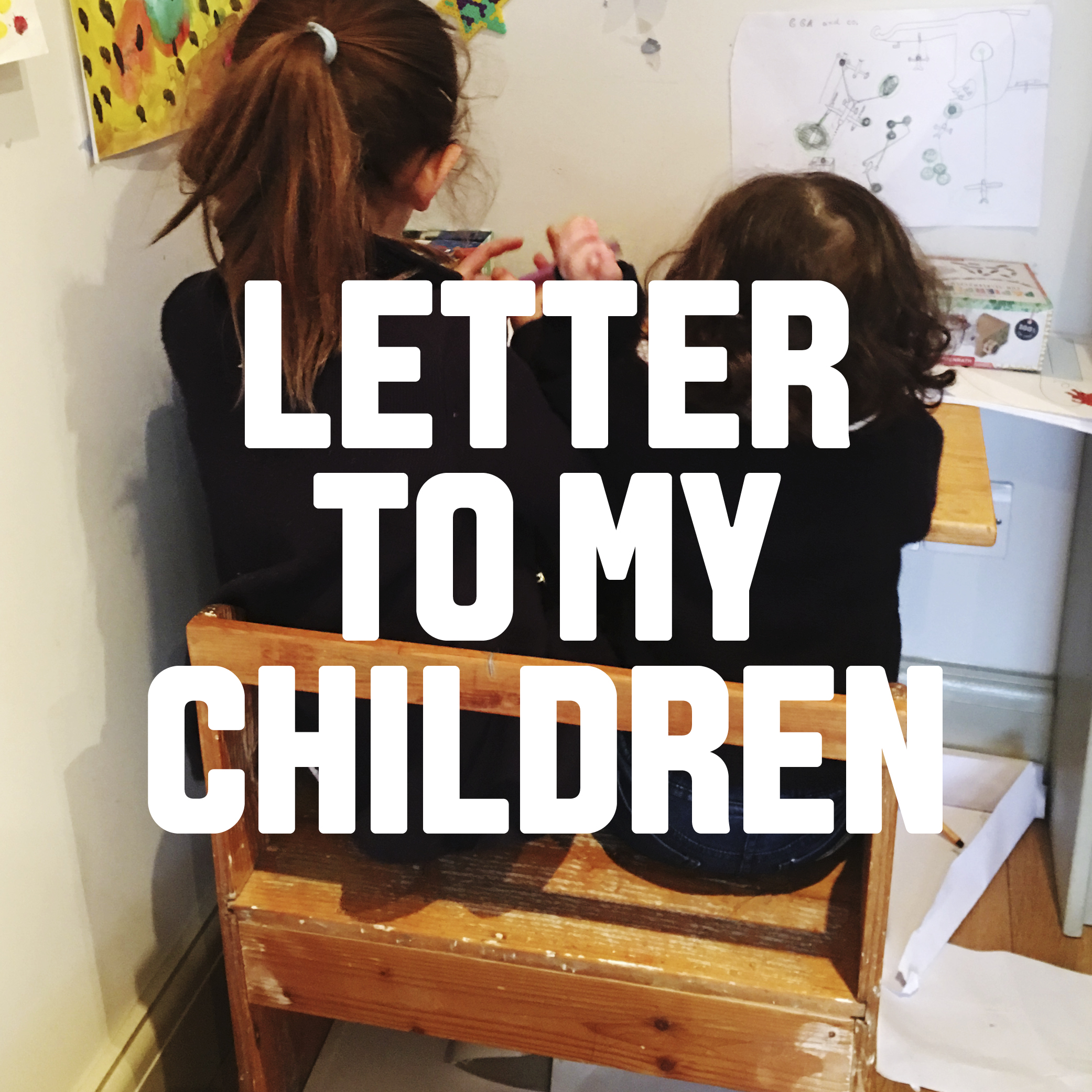 "Letter to my children  ""Are people good, or not?"""