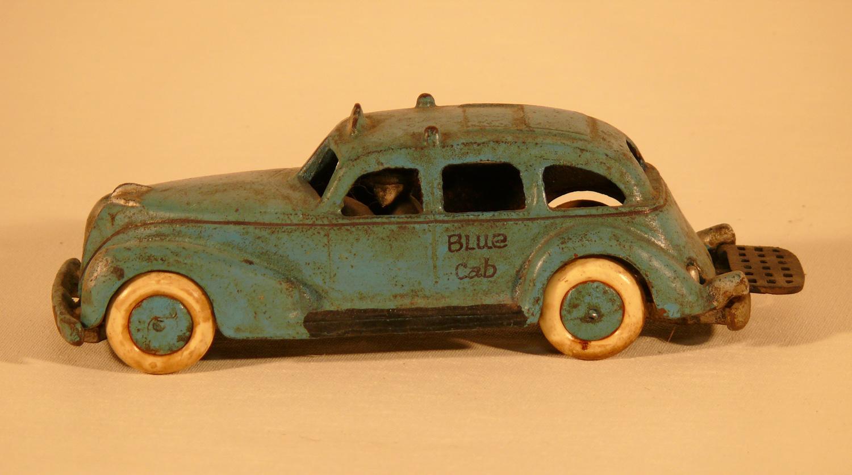 Vintage toy cast iron car