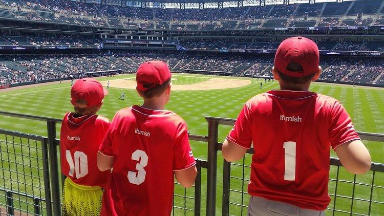 iFurnish Youth Baseball Sponsorship