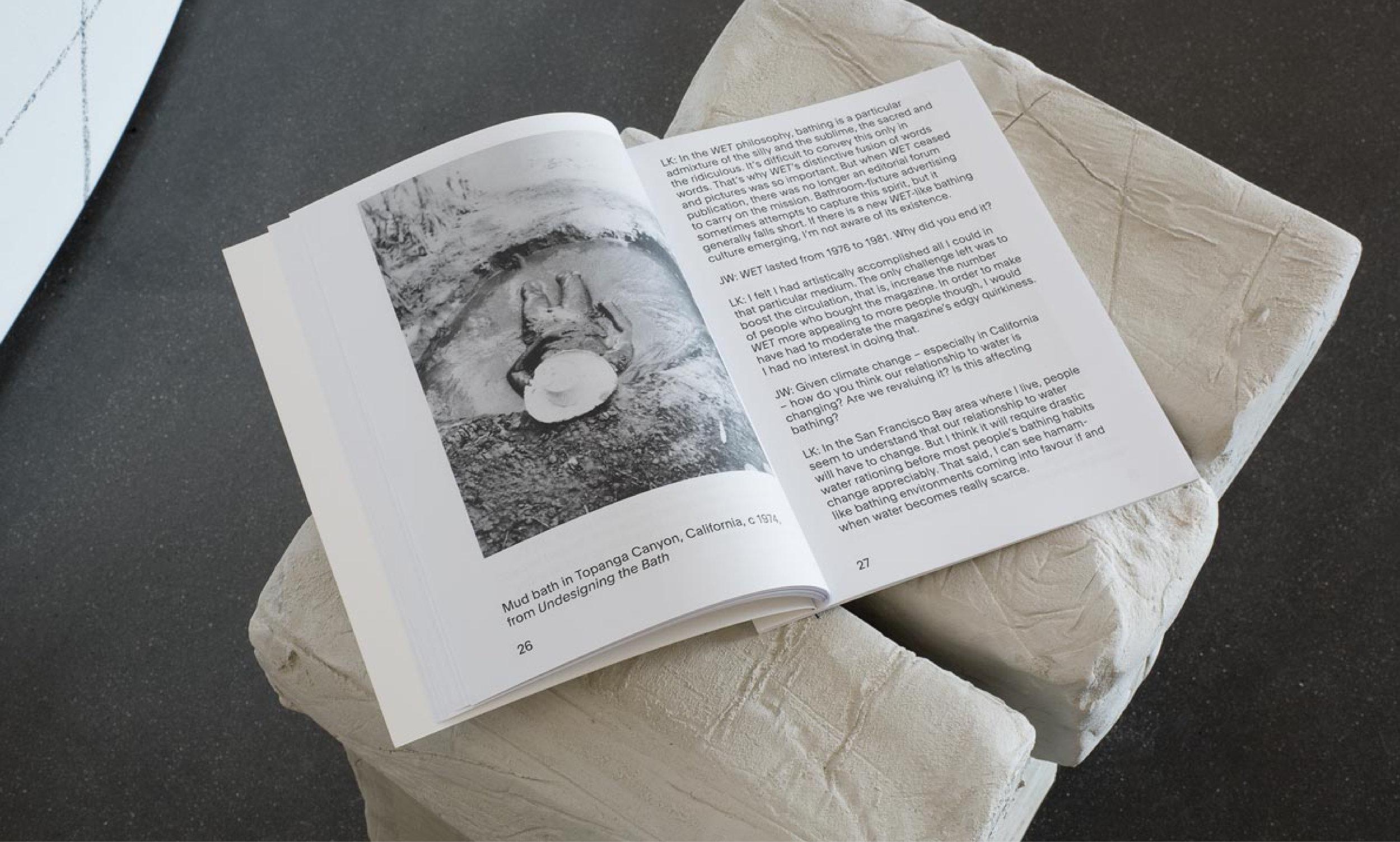 Soak, Steam, Dream: Reinventing Bathing Culture Catalogue