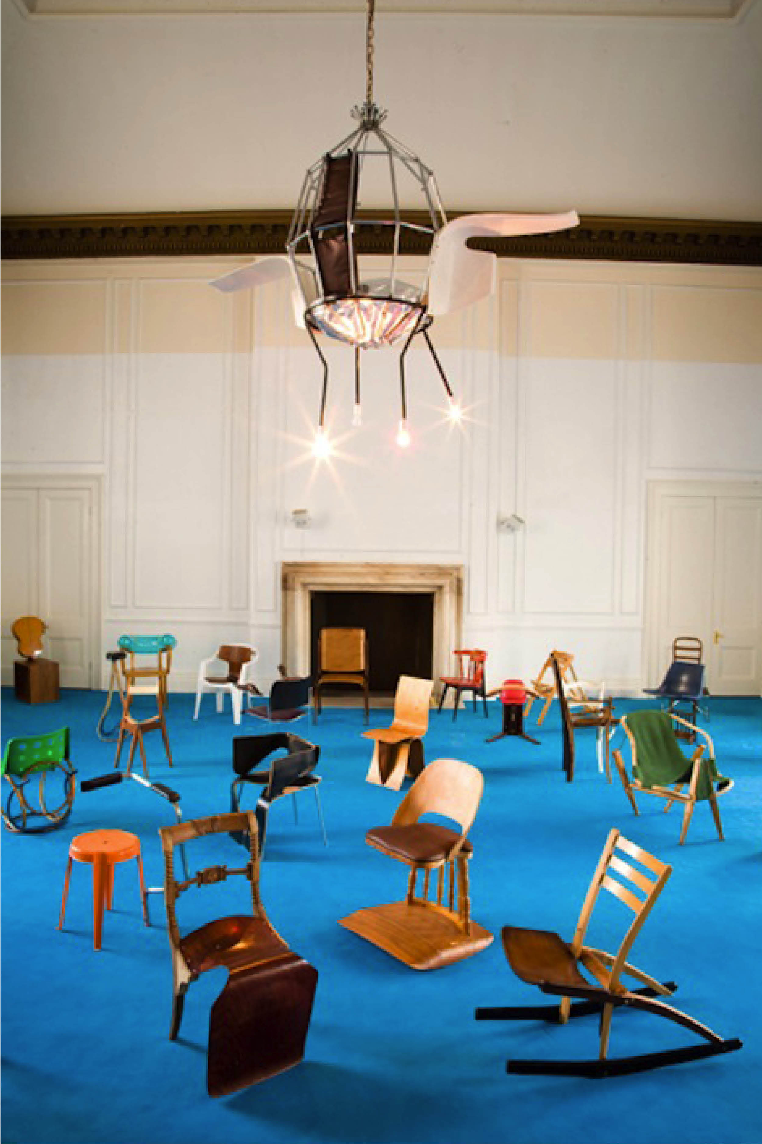 100 Chairs in 100 Days, Martino Gamper, 5 Cromwell Place, 2007