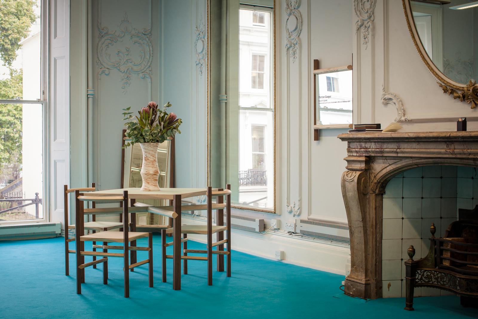 Martino Gamper, Round & Square , a new collection of studio-made furniture.