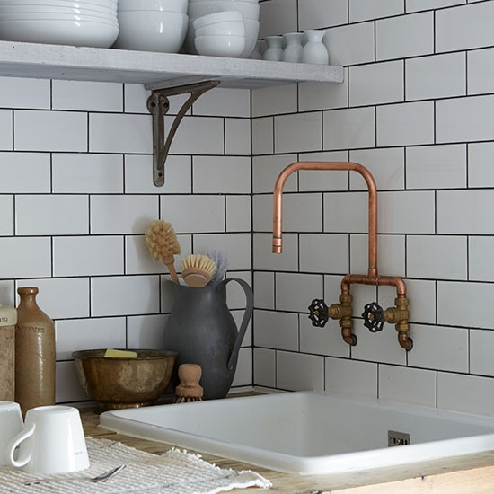 Mixed style - country and industrial together in a beautiful home. We'll give you some tips to follow when mixing any styles in your home, from kitchen, to bathroom and bedroom.