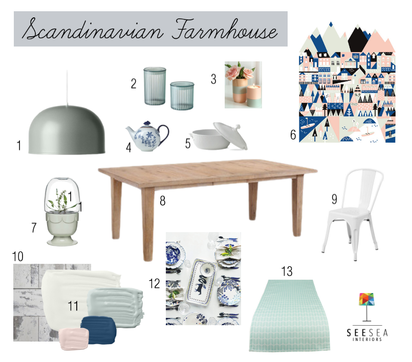Get the Scandinavian Farmhouse look in your kitchen with our easy tips.