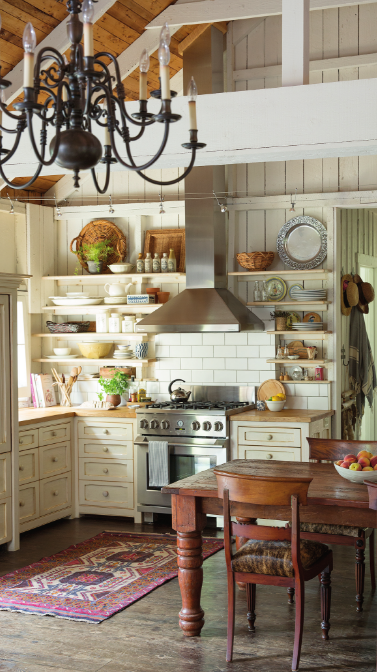 Cottage Life: a beautiful rustic cottage with refined touches