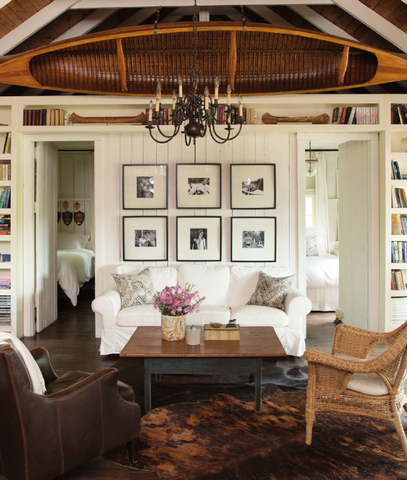 Cottage Life: a beautiful rustic cottage with refined touches.