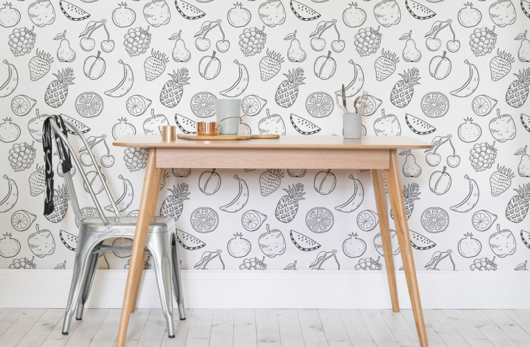 Color-in wallpapers let you enjoy coloring your own wallpaper. Brilliant idea!