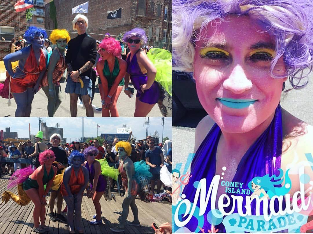 The Coney Island Mermaid Parade