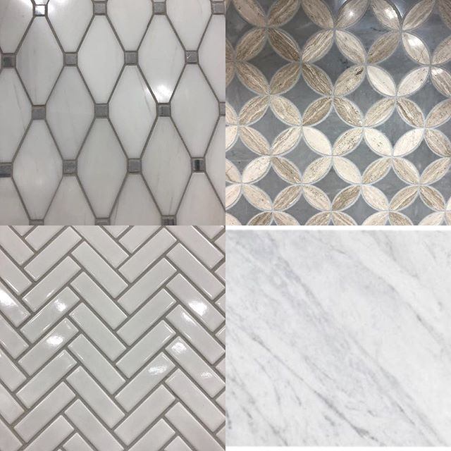 Creating our latest tile story for what is sure to be a beautiful #bathroom - can't wait to get started! #masterbathroom #renovation #homerenovation #design #mzreno
