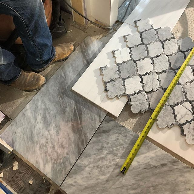 Looking forward to sharing after photos with you! This #bathroomdesign brought to you by our in-house #interiordecorator - it's going to be a #beautiful #transformation