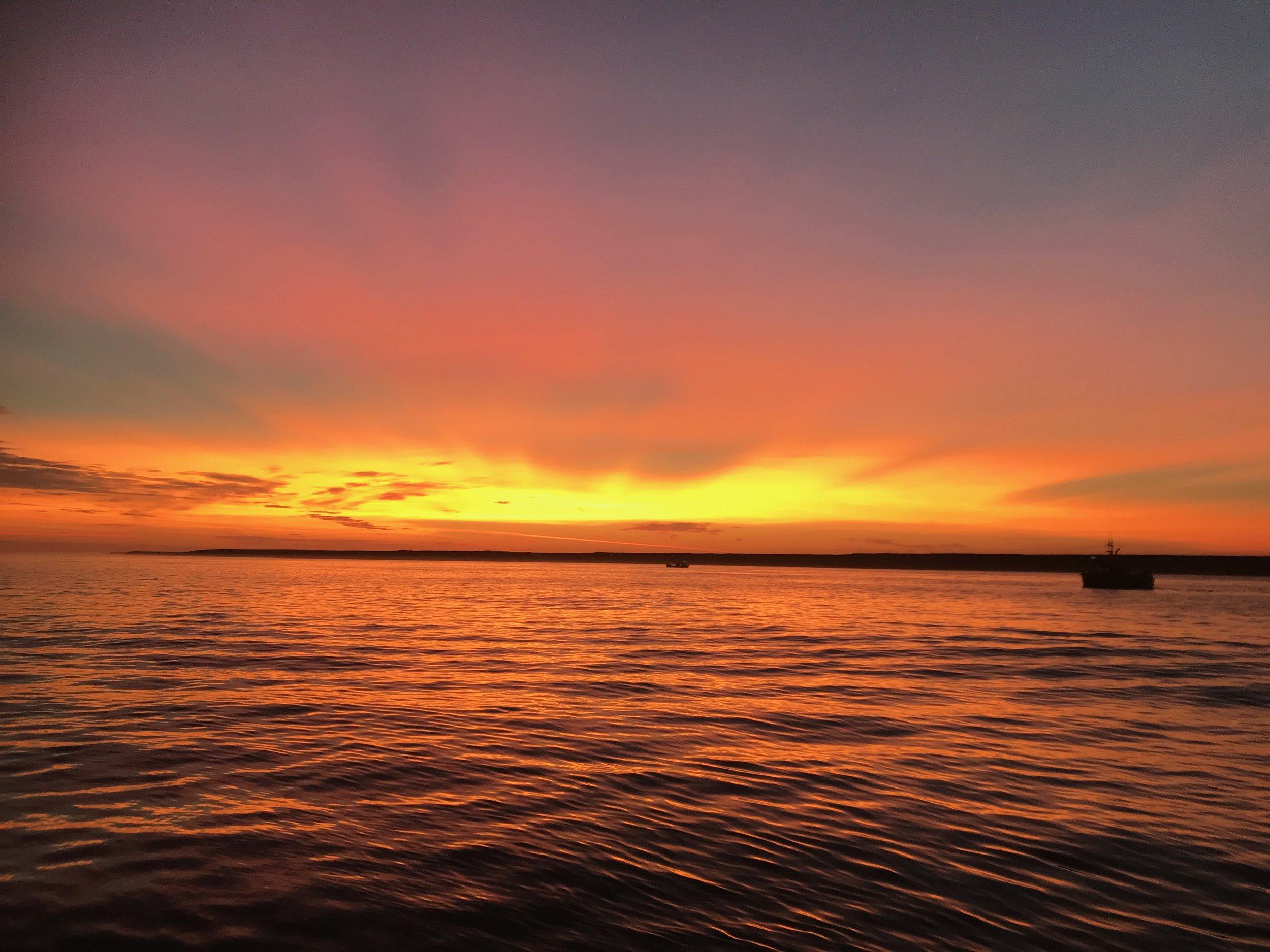 Sunset in Egegik, AK 2019