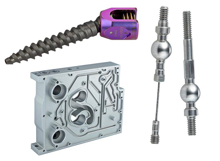 Bone screws and ventilators
